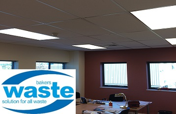 LED Lighting at Bakers Waste Services